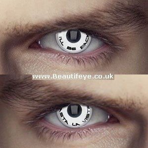 EDIT Terminator Slogan Combo Eye Contact Lenses