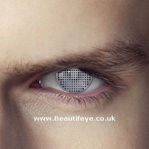 EDIT Terminator T1000 Eye Contact Lenses