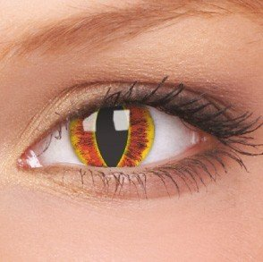 Sauron's Eye Crazy Colour Contact Lenses (1 Year Wear)