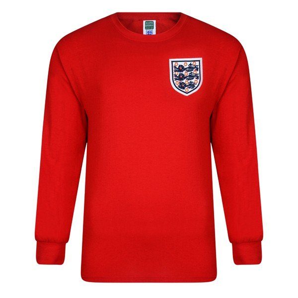England 1966 World Cup Final No 6 Retro Shirt - M