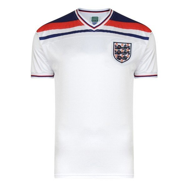 England 1982 World Cup Final Shirt - M
