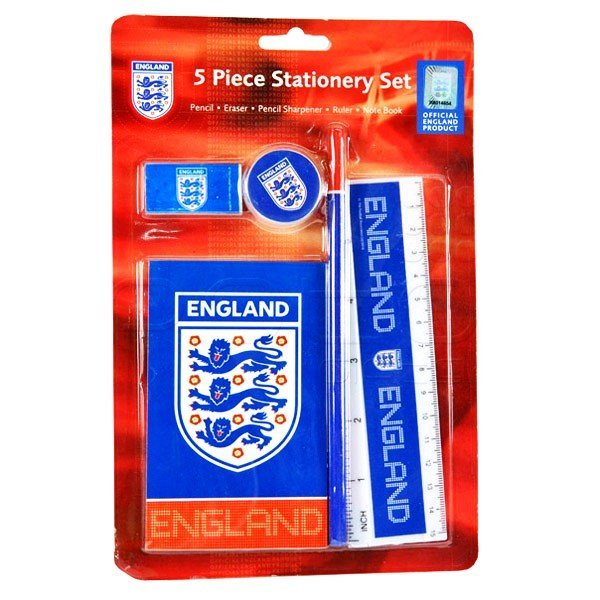 England 5PC Stationery Set