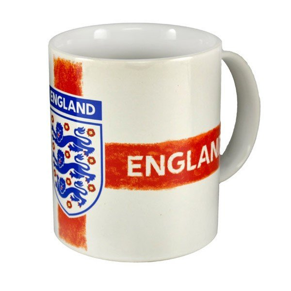 England Distressed Crest Mug