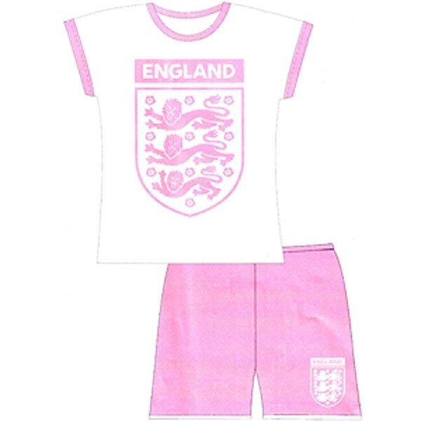 England Girls Shorts Pyjama (3-4)