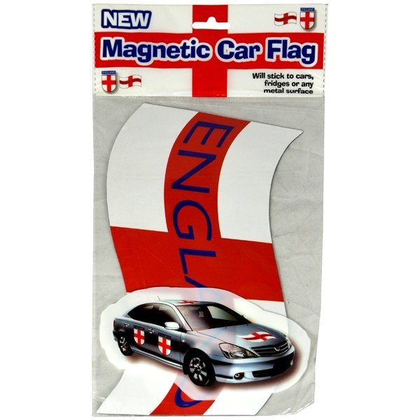 England Magnetic Car Flag 2