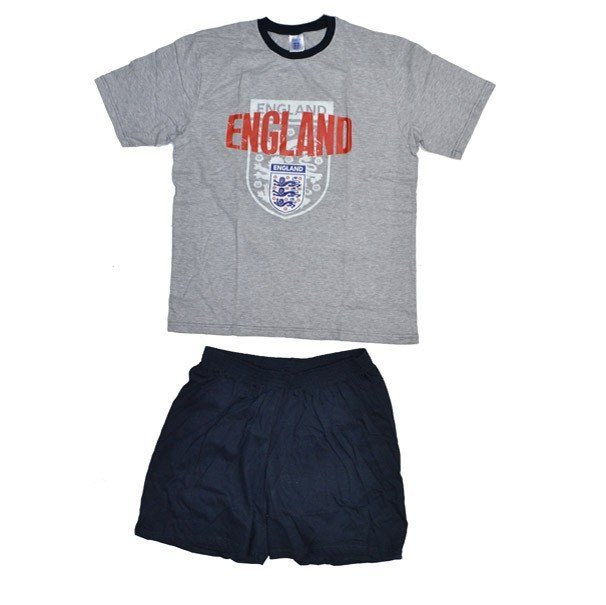 England Mens Grey Shorts Pyjama 2 -L