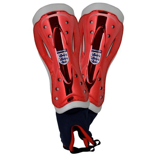 England Metallic Ankle Support Shinguards - Youth