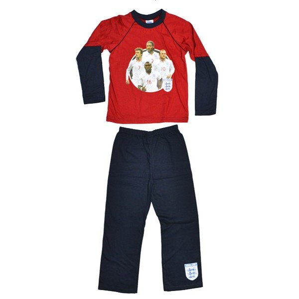 England Red Four Players Pyjama (9-10)