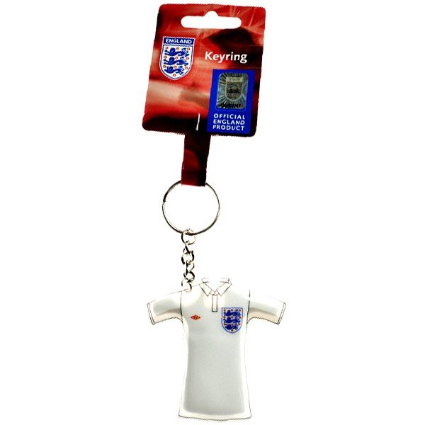 England Shirt Light Up Keyring