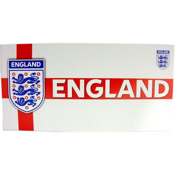 England St.George Crest Beach Towel