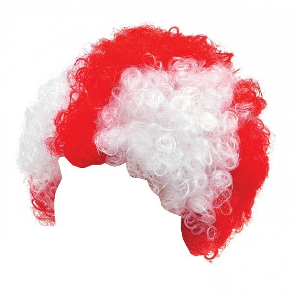 England St George Adult Supporters Wig