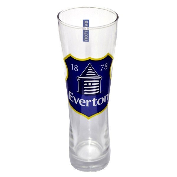 Everton Colour Crest Peroni Pint Glass