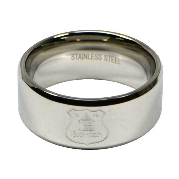 Everton Crest Band Ring - Medium