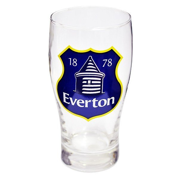 Everton Crest Pint Glass