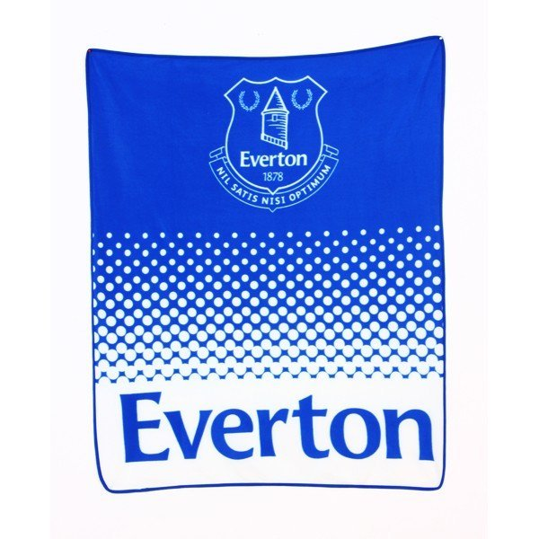 Everton Fade Fleece Blanket