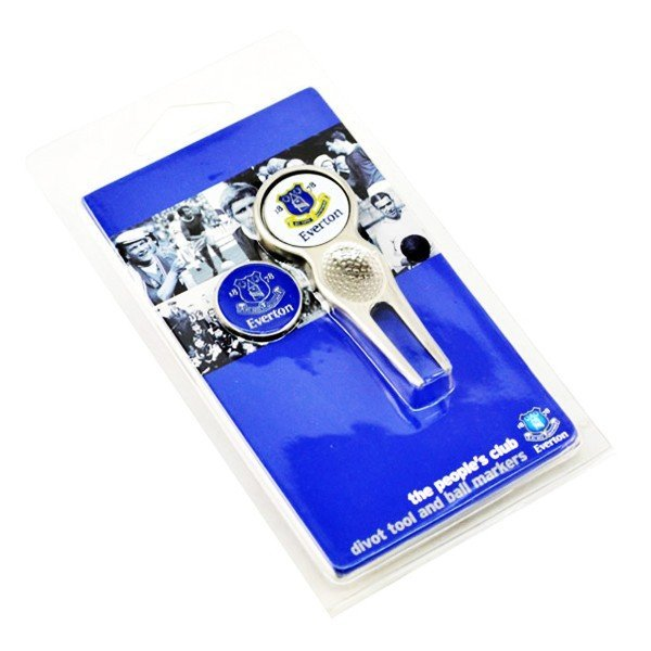 Everton Golf Divot Tool & Ball Markers