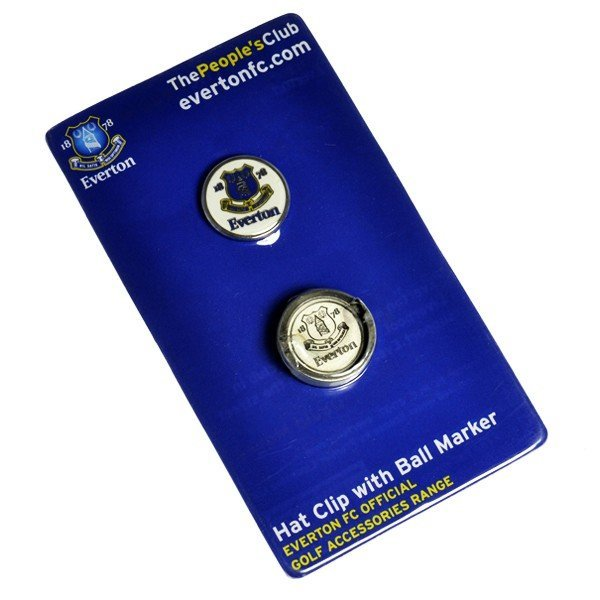 Everton Golf Hat Clip & Ball Marker