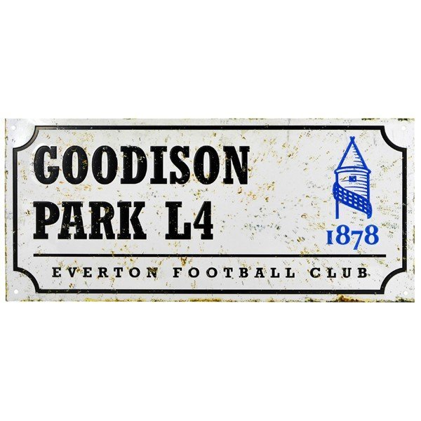 Everton Retro Street Sign