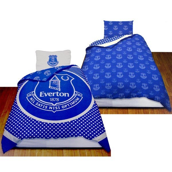 Everton Reversible Bullseye Single Duvet Set