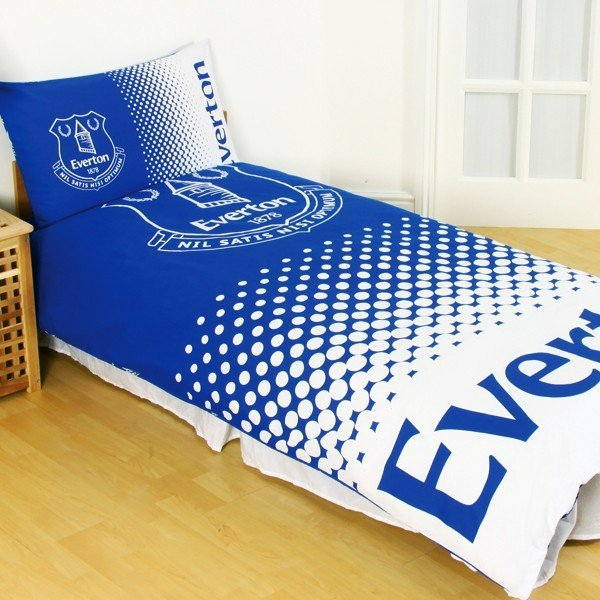 Everton Reversible Fade Double Duvet Set
