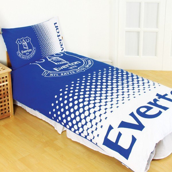 Everton Reversible Fade Single Duvet Set