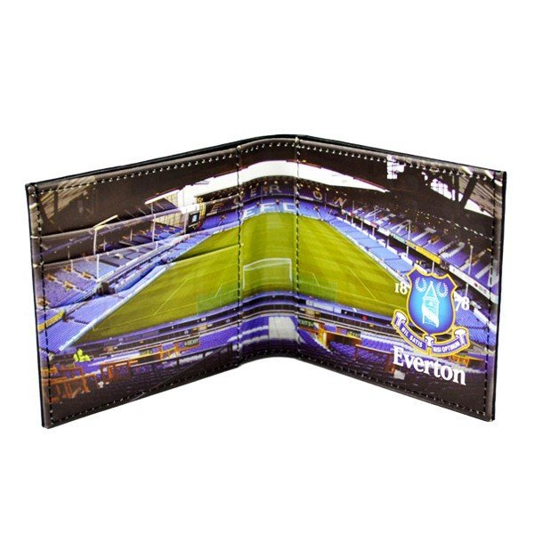 Everton Stadium Leather Wallet