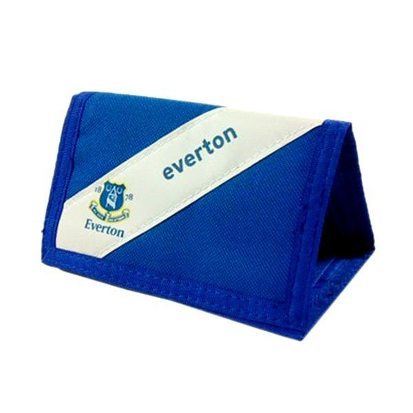 Everton Stripe Nylon Wallet