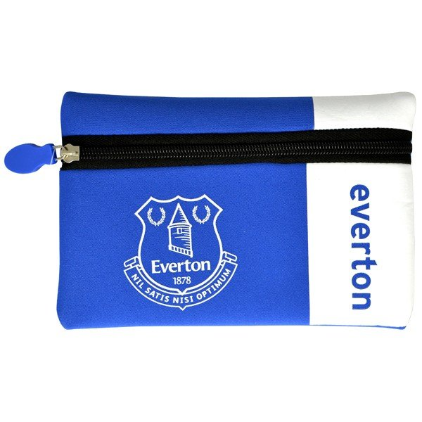 Everton Wordmark Flat Pencil Case
