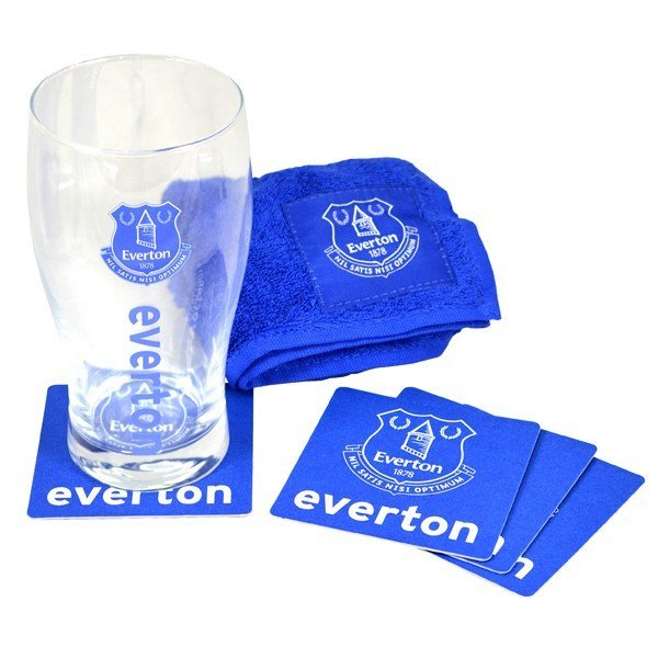Everton Wordmark Mini Bar Set