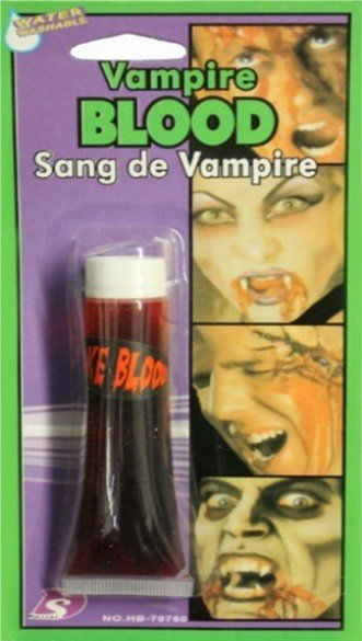 Halloween Horror Theatrical Realistic Vampire Hospital Accident Blood Make Up