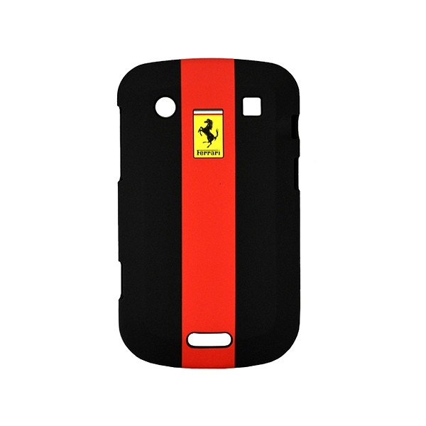 Ferrari Blackberry Bold 9900 Hard Phone Case - Black