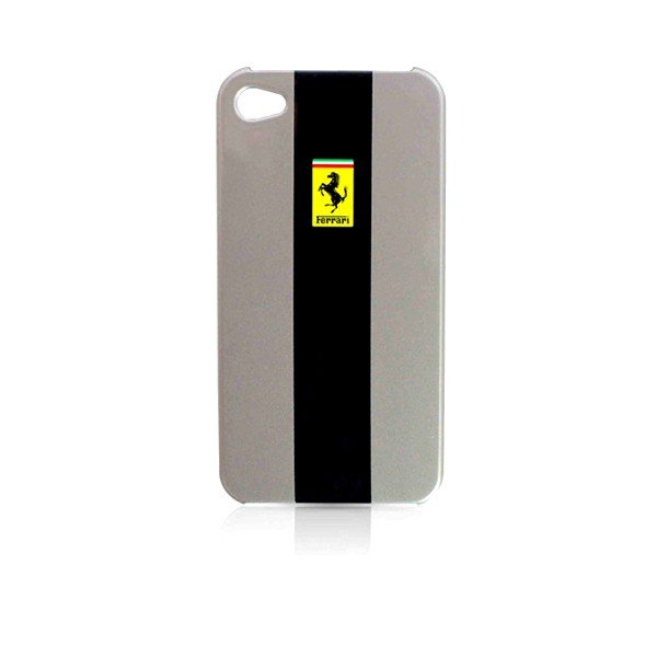 Ferrari iPhone 4/4S Hard Phone Case - Grey