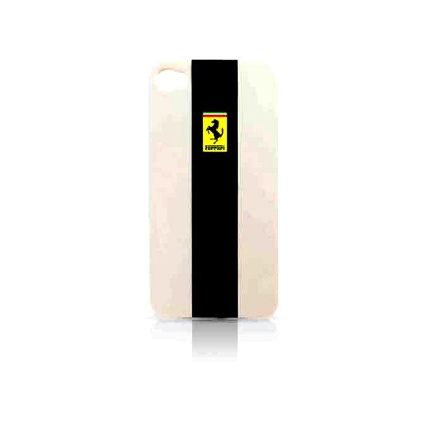 Ferrari iPhone 4/4S Hard Phone Case - Silver