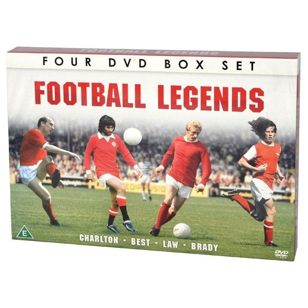 Football Legends 4 DVD Box Set - Charlton Laws Best Brady