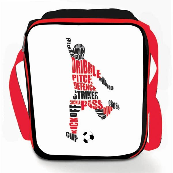 Football Vertical Lunch Bag