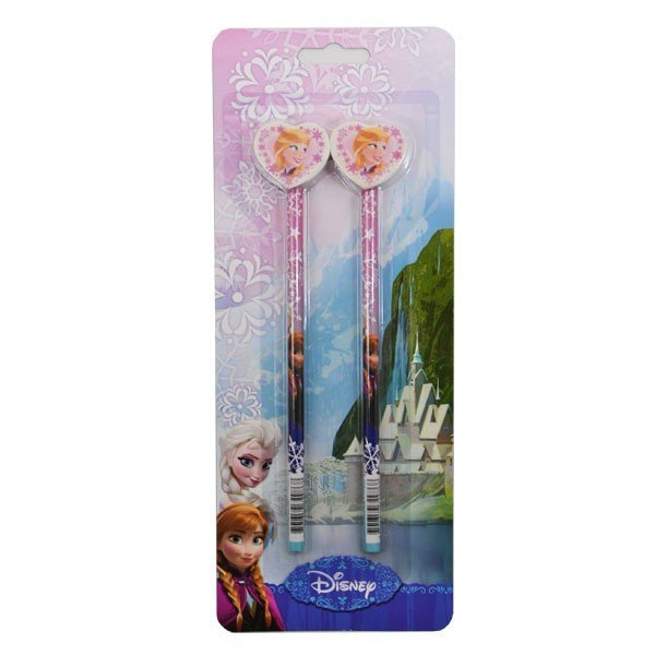 Frozen 2Pk Pencil with topper