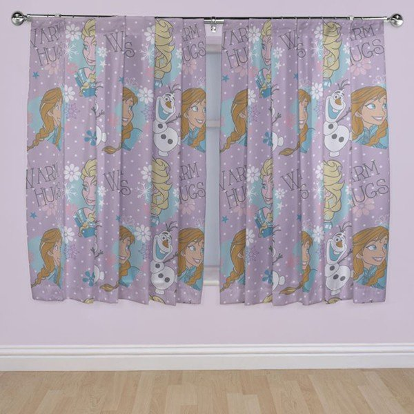 Frozen Curtain - 72 Inch