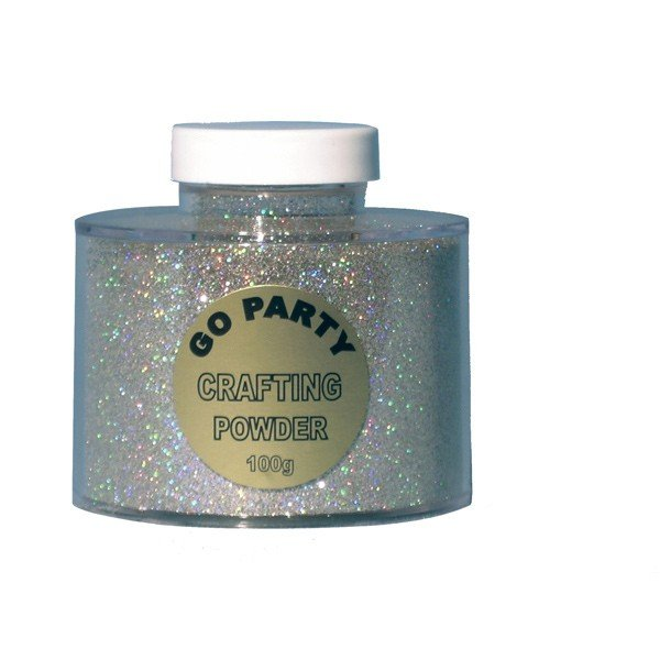 Go International Crafting Powder - Holographic Silver