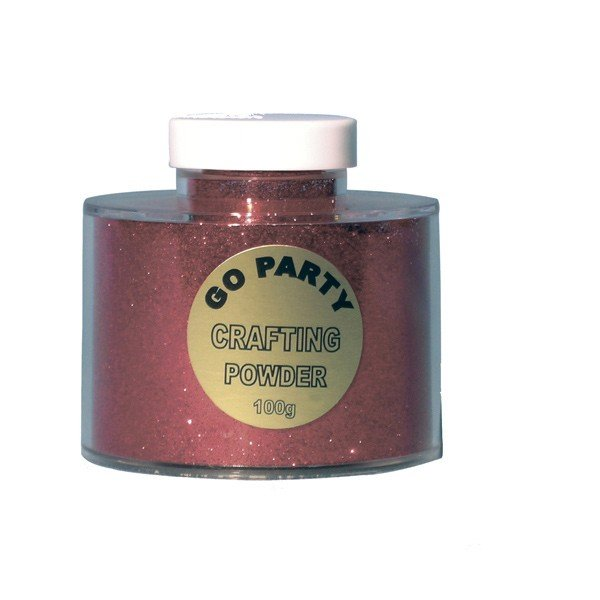 Go International Crafting Powder - Red