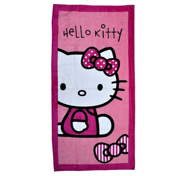 Hello Kitty Candy Stripe Towel
