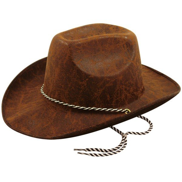 Henbrandt Adult Cowboy Hat - Brown