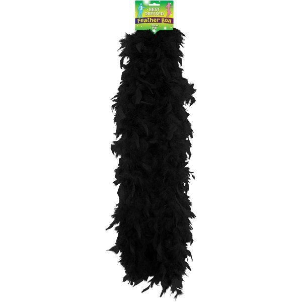Henbrandt Feather Boa - Black