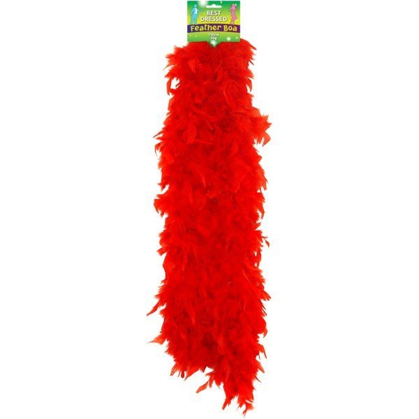 Henbrandt Feather Boa - Red