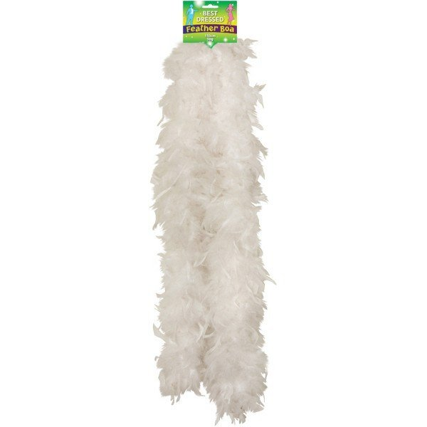 Henbrandt Feather Boa - White