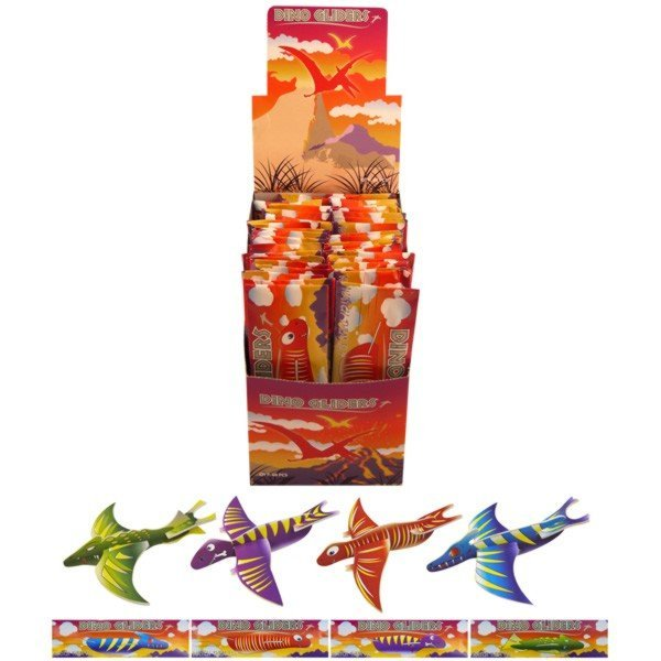 Henbrandt Gliders - Assorted Dino