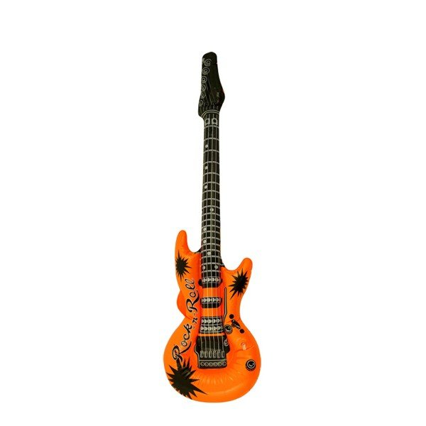 Henbrandt Inflatable Guitar - Orange