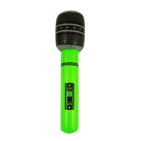 Henbrandt Inflatable Microphone - Green