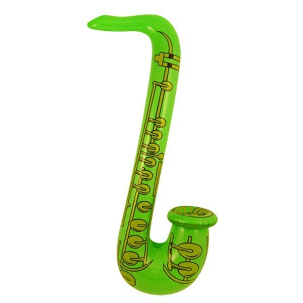 Henbrandt Inflatable Saxophone - Green
