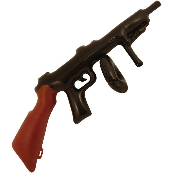 Henbrandt Inflatable Tommy Gun
