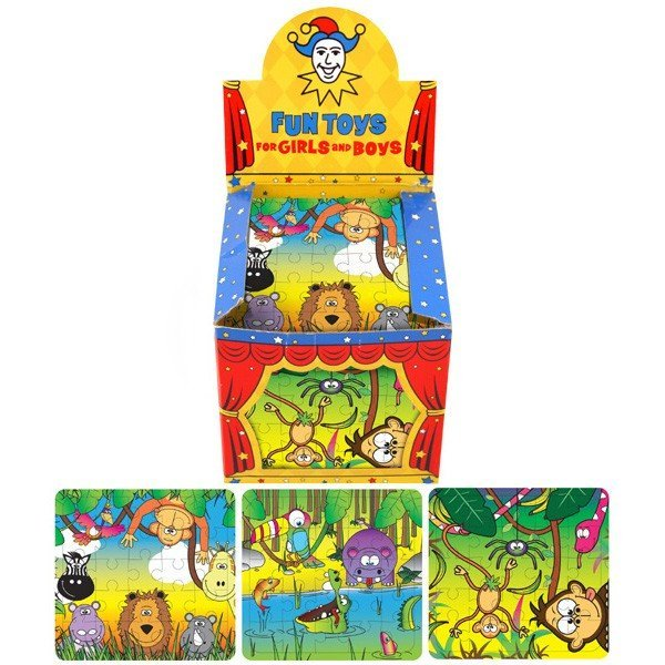 Henbrandt Jigsaw Puzzle - Jungle Animals